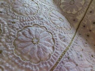 フラワー手刺繍シルクコットンドレス4.JPG